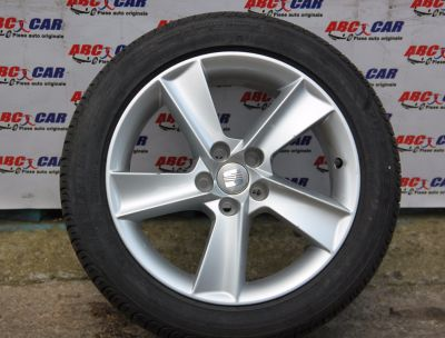 Janta aliaj R16 cu anvelopa de vara 215/45 R16 Seat Ibiza 4(6L1) 2002-2009 6J0601025L