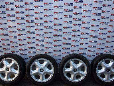 Set jante aliaj cu anvelope de vara 195/50 R15 Seat Toledo 2 (1M2) 1998-2005 1L0601025K